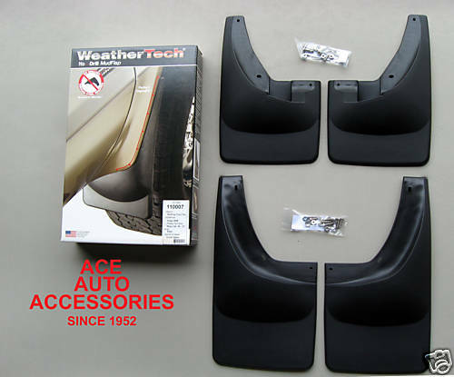 Custom Ram 1500 >> 2006-2008 DODGE RAM CUSTOM MOLDED MUD FLAPS NO-DRILL | eBay
