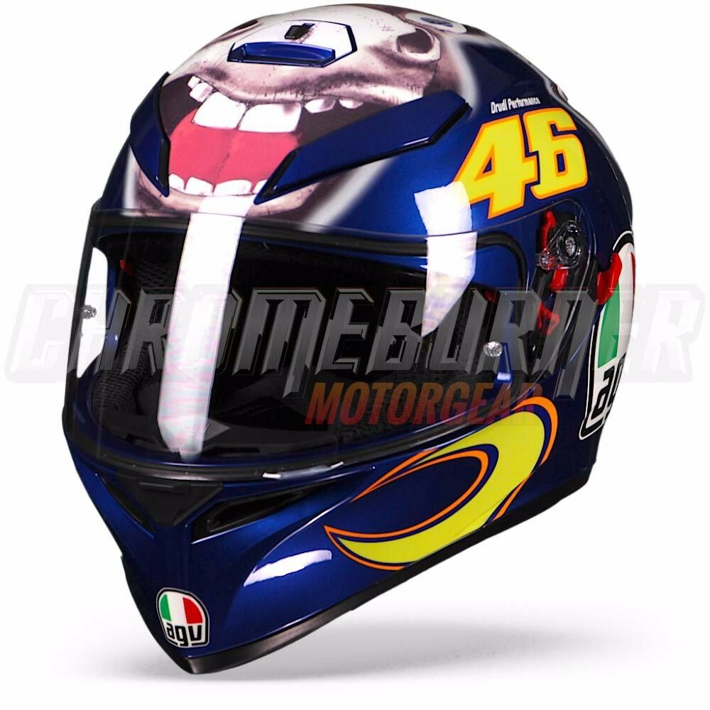 agv helmet k 3 sv valentino rossi donkey limited edition. Black Bedroom Furniture Sets. Home Design Ideas