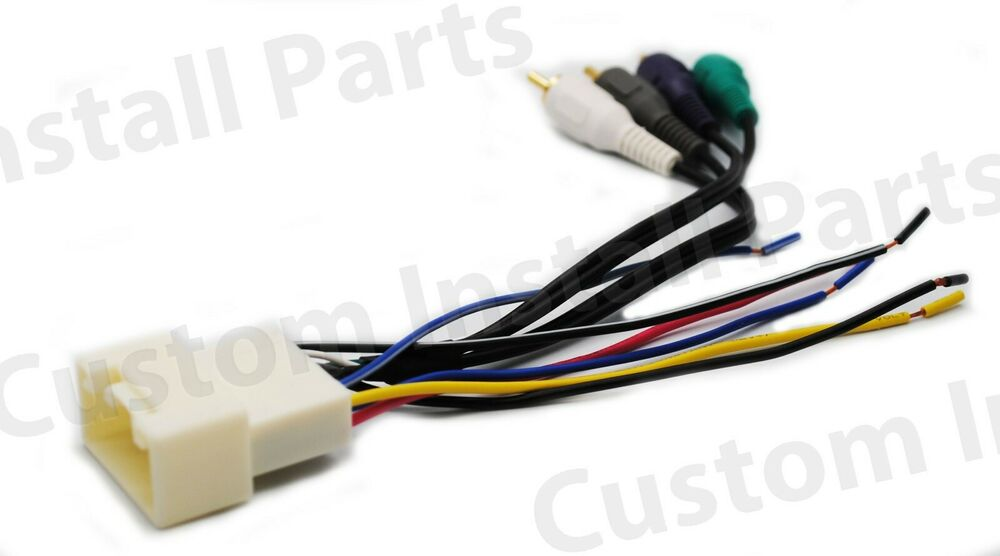 s-l1000 Radio Wiring Harness Subaru on