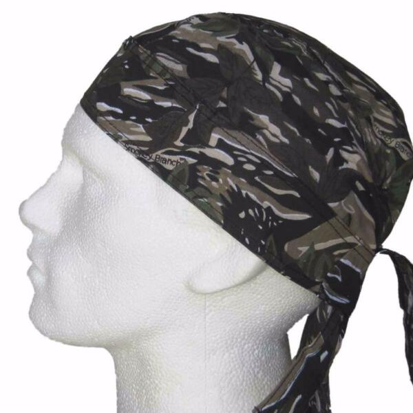Cycling Clothing Bandanna Original Microfiber Total Black 8810-027 P.a.c Bike