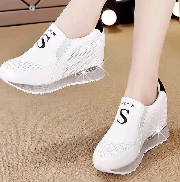 Hidden Wedge Shoes Fashion