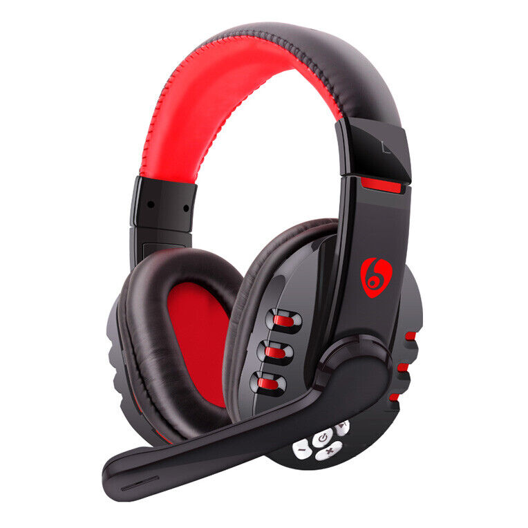 wireless gaming headset bluetooth headphone w mic for. Black Bedroom Furniture Sets. Home Design Ideas