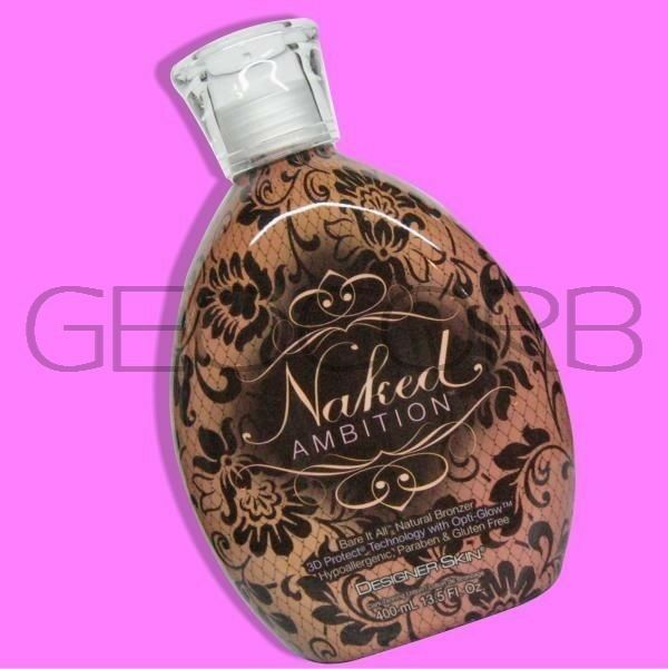 naked ambition tanning lotion