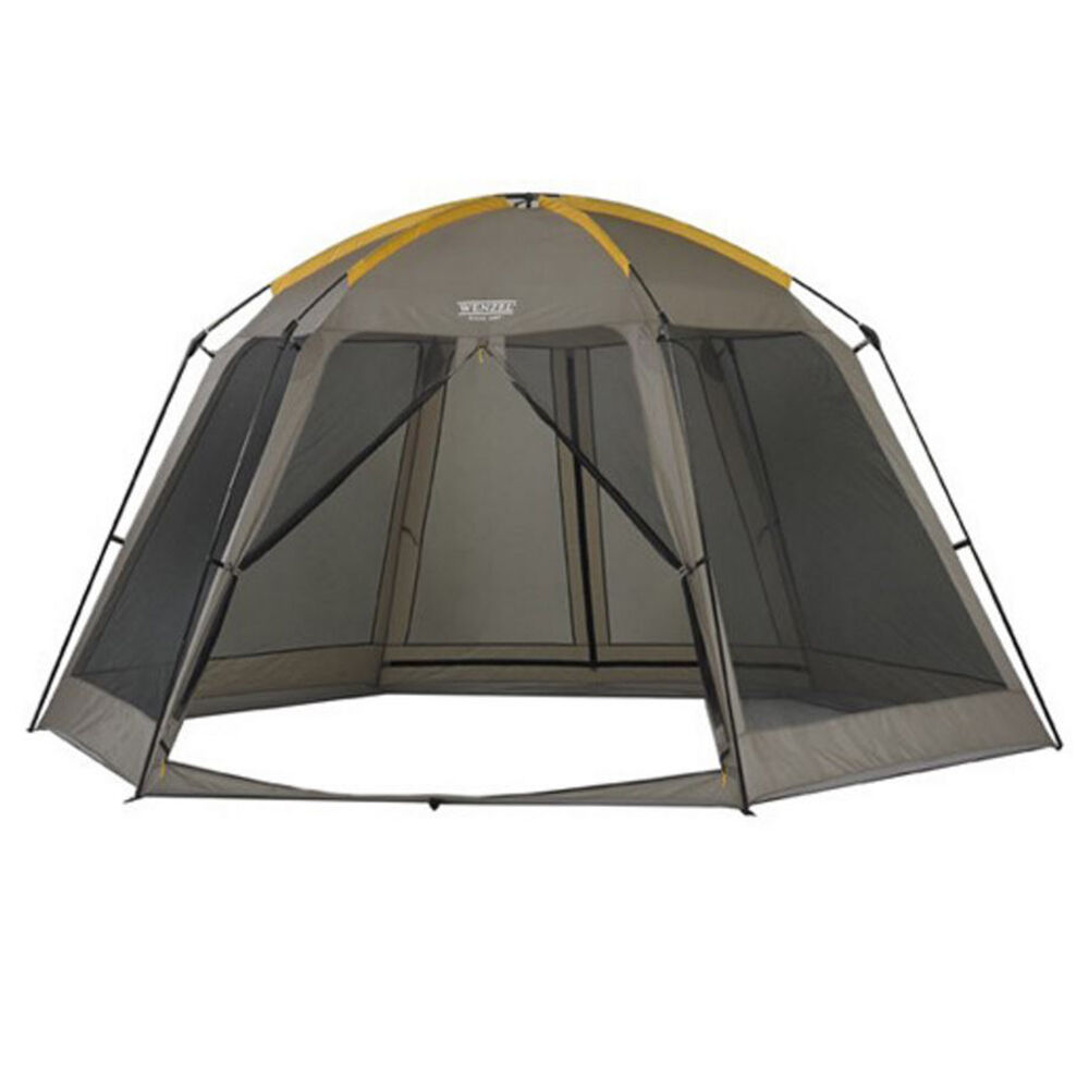 Wenzel 14x12 foot biscayne light portable and spacious for Tent a house