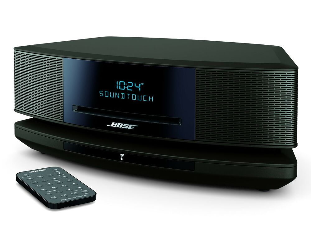 bose wave soundtouch music system iv remote cd player and. Black Bedroom Furniture Sets. Home Design Ideas