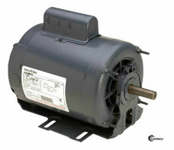 C435 3 4 21 Hp 1725 1140 Rpm New Ao Smith Electric