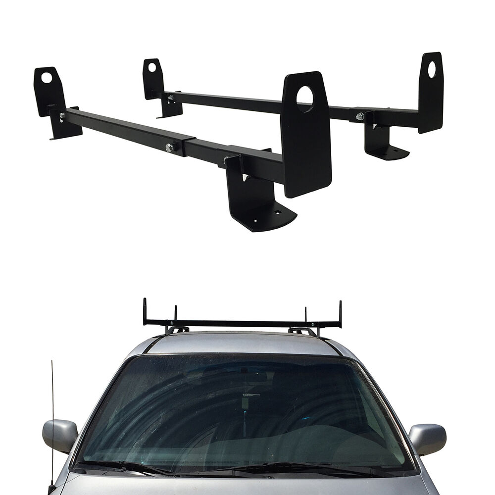 60 Quot Universal Roof Ladder Rack Mount Gutterless Van Cross