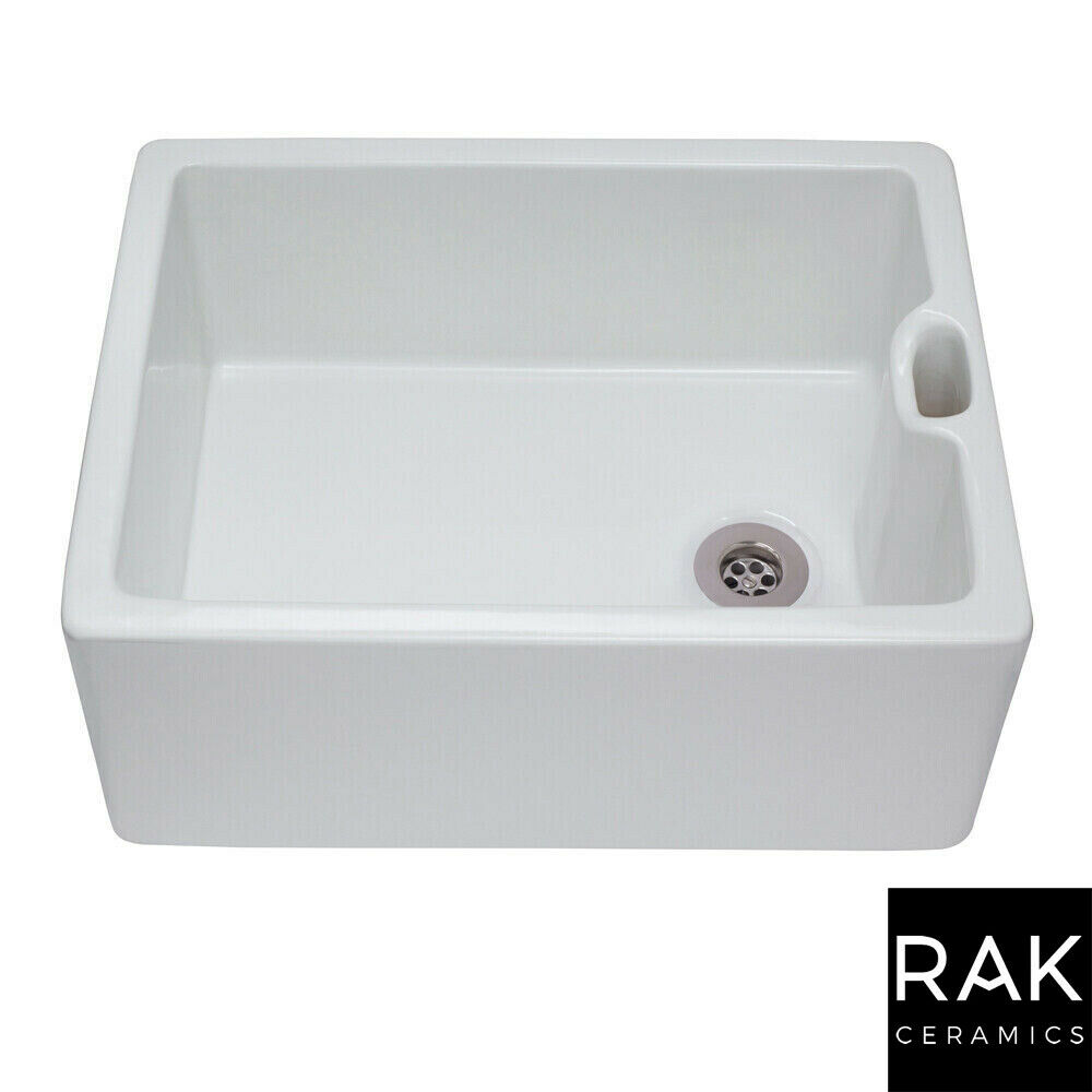 porcelain sinks for kitchen rak 600 gourmet ceramic belfast butler kitchen sink with 4334