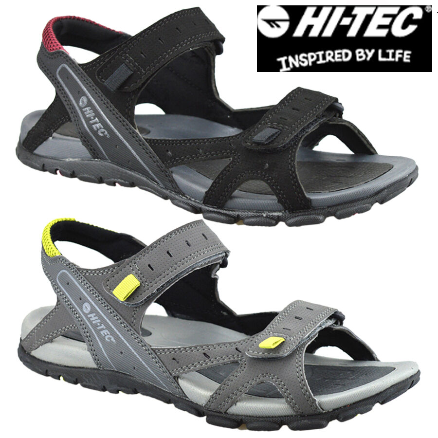 0b9c5ab2214f Details about HI-TEC MENS SUMMER WALKING TRAIL COMFORT SPORTS GLADIATOR  MULES SANDALS