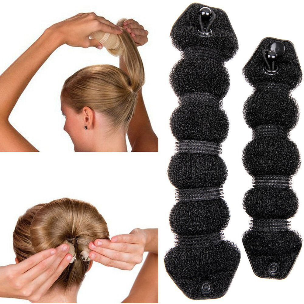 magic hair style buns magic hair style twist ring former shape bun 6265