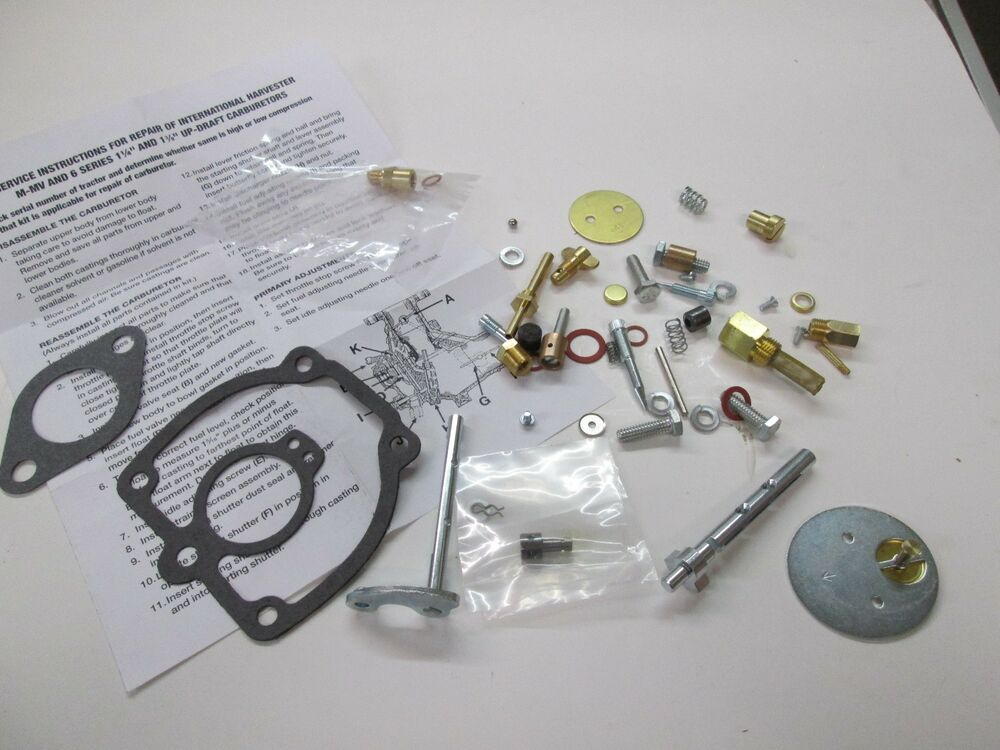 Farmall 300 Parts : International farmall tractor complete carburetor