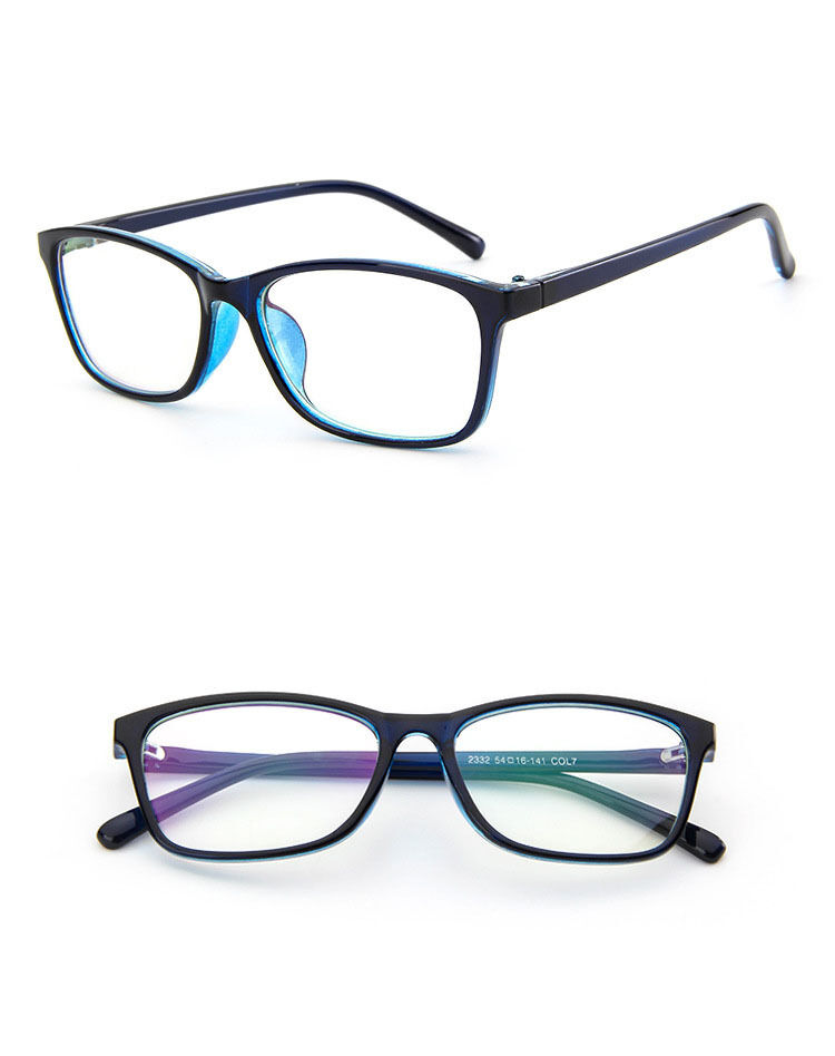 Fashion Myopia Glasses Frame Eyeglass Optical Square Frame ...
