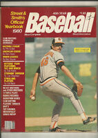 Street & Smith's 1980 Official Baseball Yearbook Mike Flanagan Baltimore Orioles