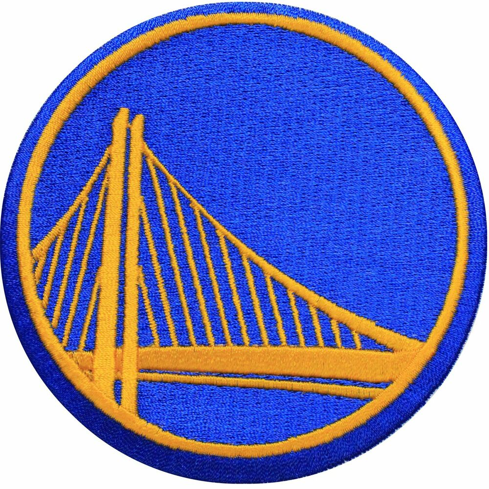 Official Golden State Warriors Logo Large Sticker Iron On