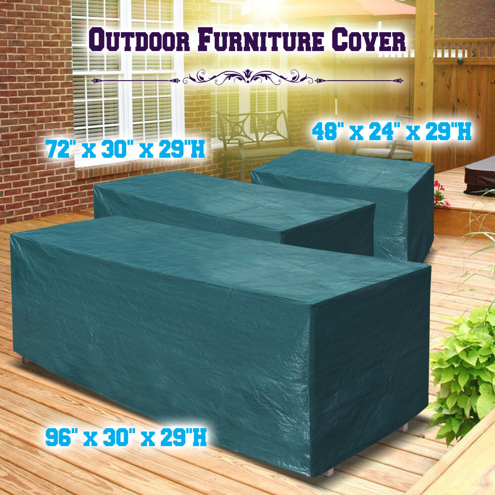 Patio Garden Outdoor Furniture Winter Cover Rectangular