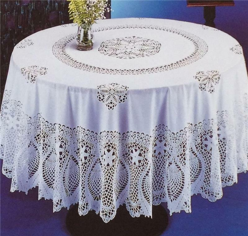 Vintage Vinyl Tablecloth 38
