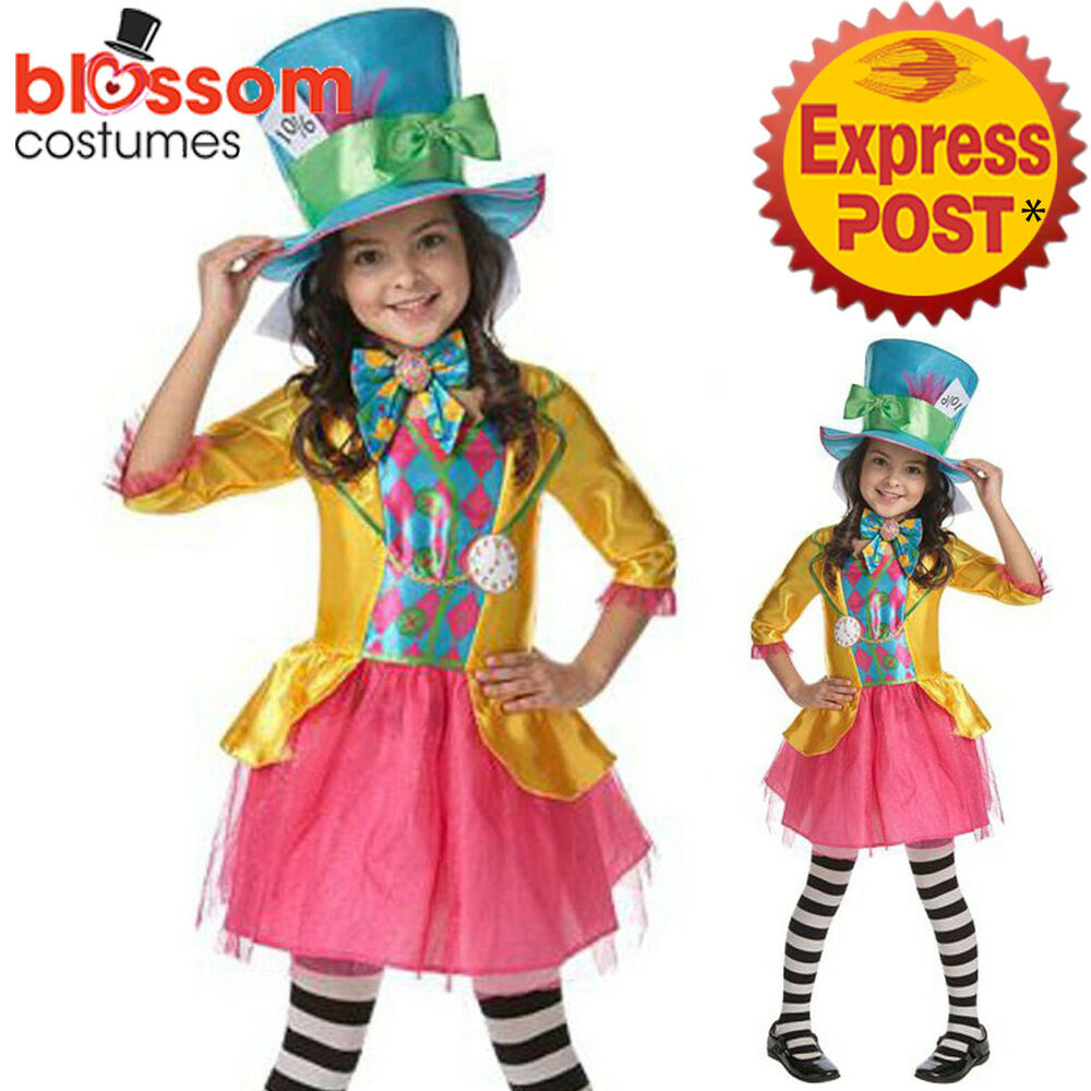 CK811 Mad Hatter Girls Alice in Wonderland Book Week Teen ...