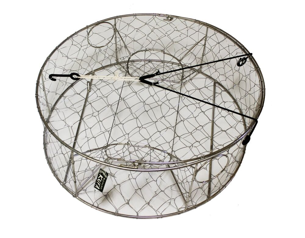 Kufa Sports Ct 100 Stainless Steel Crab Trap 30 Inch Ebay