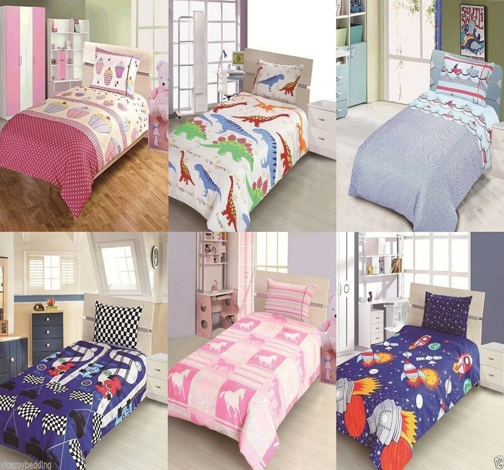 Character Junior Bed, Toddler Bed, Cot Bed Duvet Cover ...