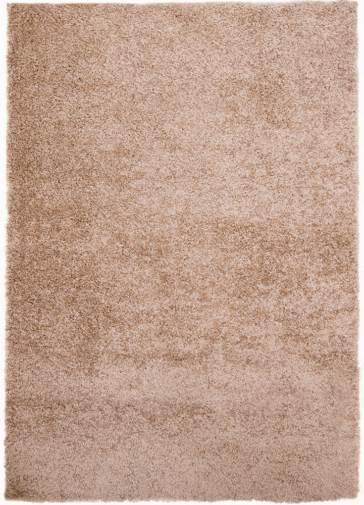 Rugs Taupe Beige Brown Contemporary Area Shag Rug Solid