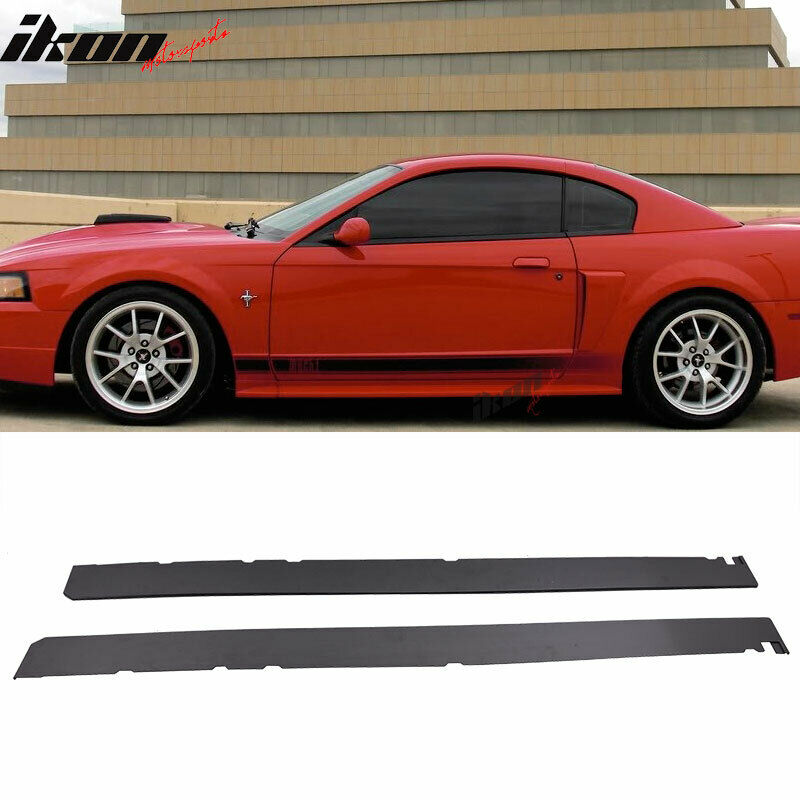 99 Ford Mustang: 99-04 Ford Mustang Add On Side Skirts Extensions