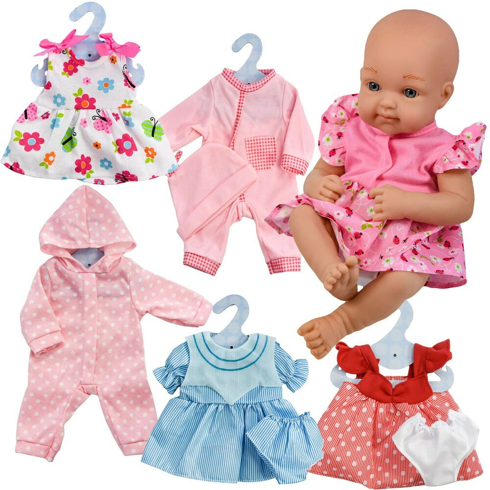 12 16 Quot New Born Baby Doll Outfits Baby Dolls Clothes