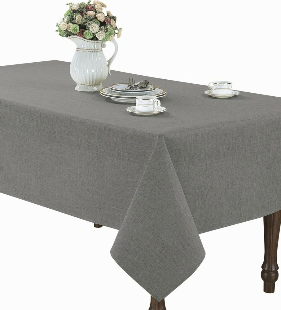 Ultimate Textile 60 x Inch Rectangular Polyester Linen Tablecloth Charcoal Grey. by Ultimate Textile. $ $ 20 18 + $ shipping. out of 5 stars See Size & Color Options. Wedding Linens Inc. Wholesale ( GSM) 5 FT (60 in) Round Spandex Stretch Fitted Table Cover Tablecloths .