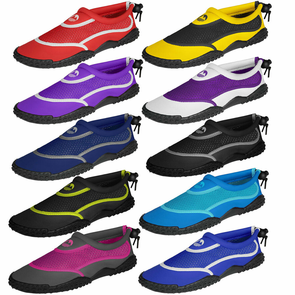 Wade Worry Free with Women's Water Shoes. Explore the shore with women's water shoes from DICK'S Sporting Goods. Help protect yourself from rocks, sharp shells, fishing hooks and glass with a high-quality pair of women's water shoes.