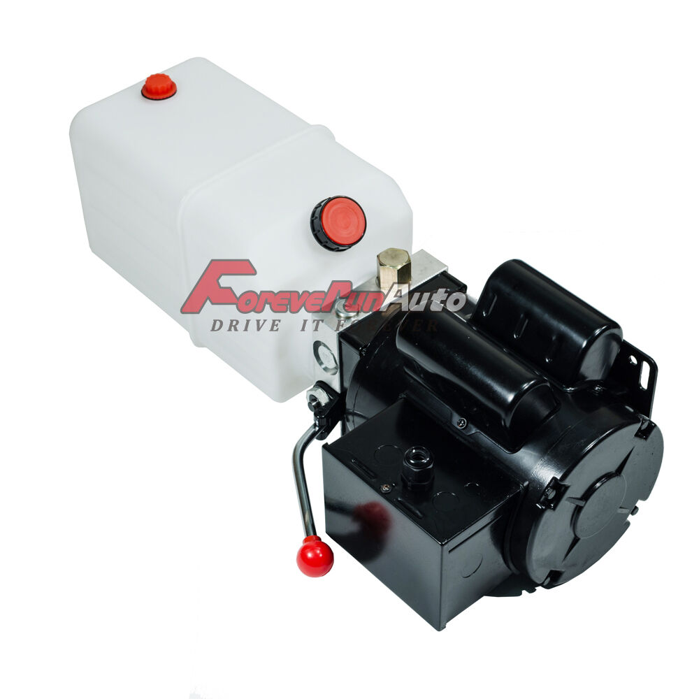 New Car Lift Hydraulic Power Unit, (115/230) 60hz 1 Ph