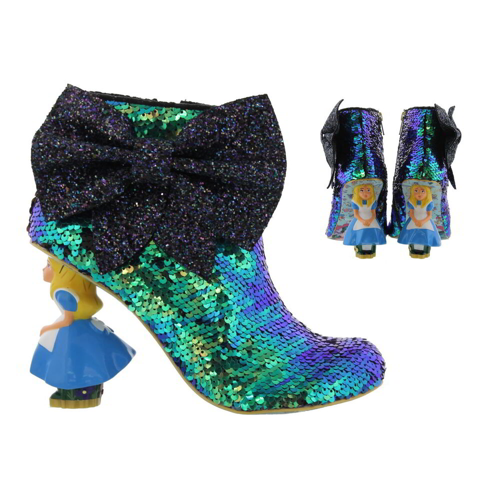De S About Irregular Choice Alice In Wonderland Who In The World Am I Alice Heels Size Uk