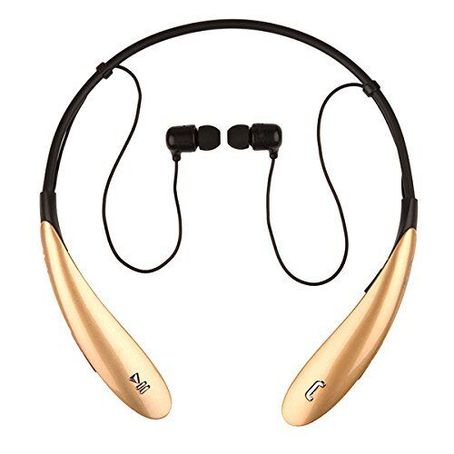 sports bluetooth headset headphones hd stereo in ear earbuds for running gym. Black Bedroom Furniture Sets. Home Design Ideas