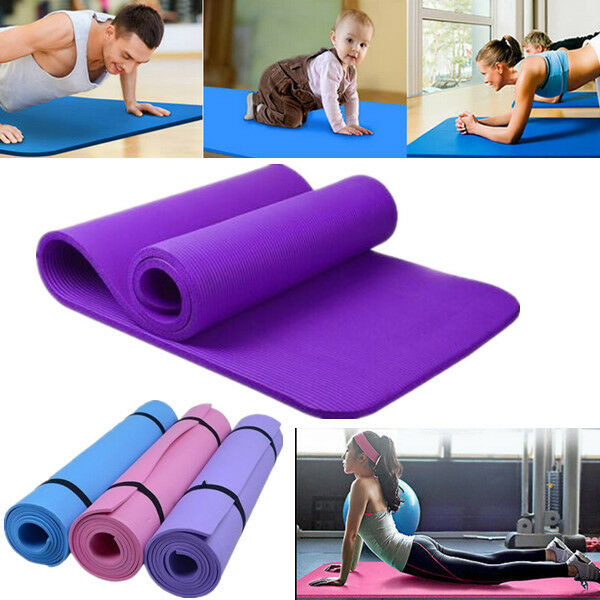 6-10mm Non-slip Yoga Mat Health Lose Weight Fitness