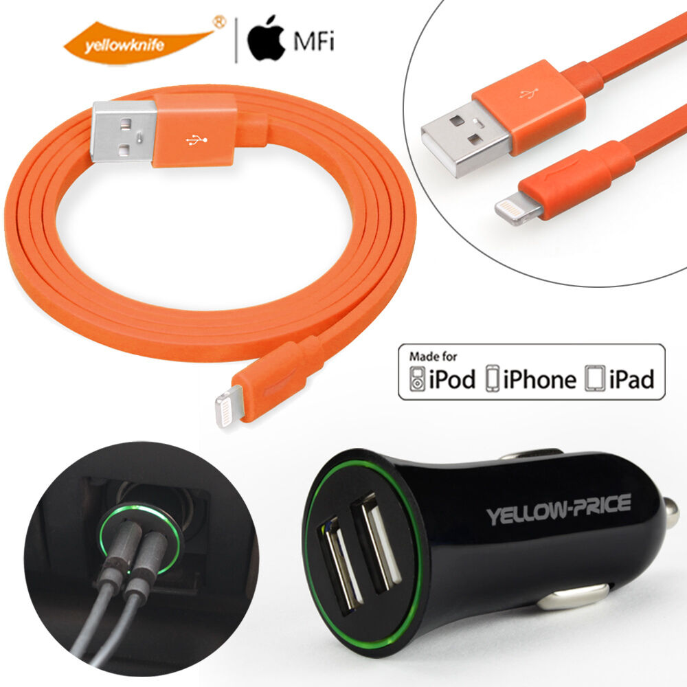 Apple Certified Car Charger For Iphone S