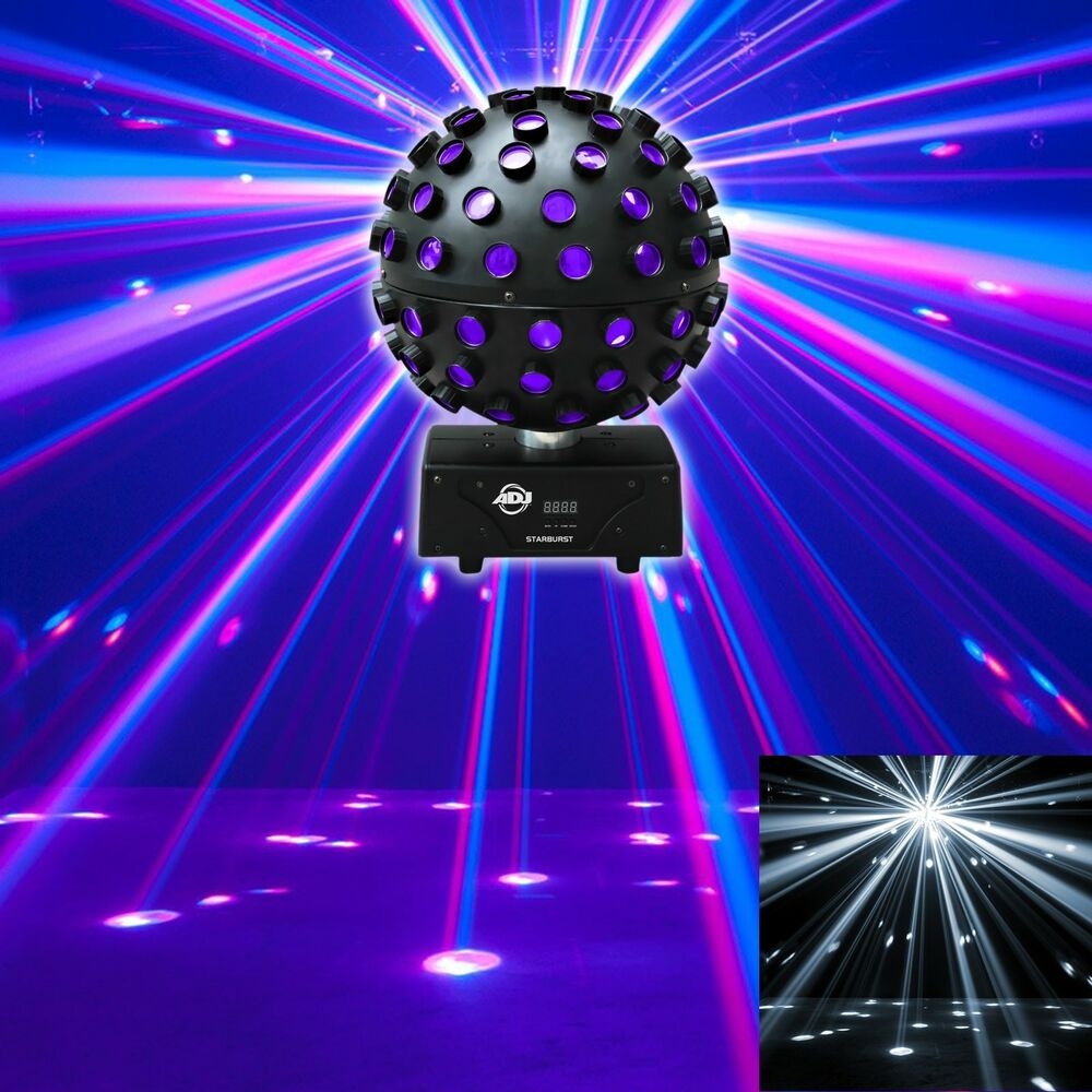 American Dj Starburst Led Sphere Multi Color Shooting Beam