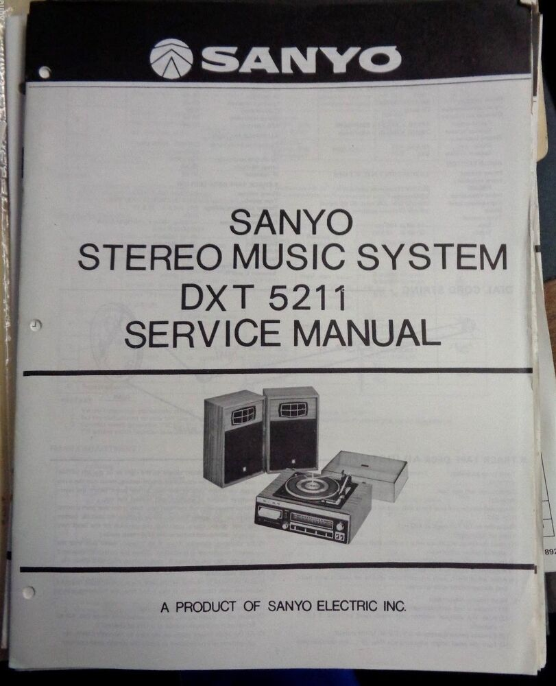 Free Vintage Stereo Manuals