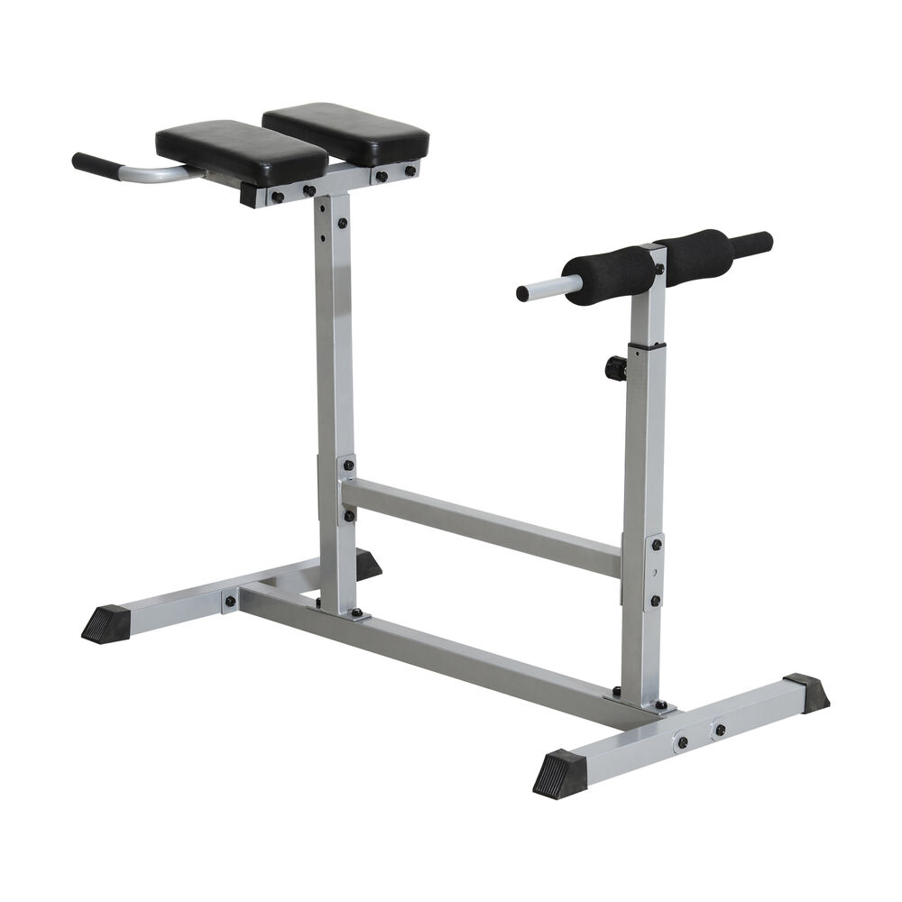 Soozier Roman Chair Adjustable Hyperextension Ab Back Bench Exercise Abdominal Ebay