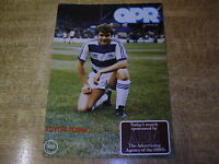 1980/81 DIVISION TWO - QUEENS PARK RANGERS v LUTON TOWN