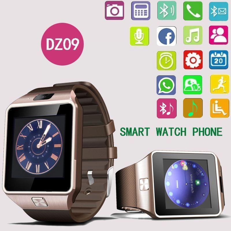 smart watches for iphone dz09 bluetooth smart phone mate sports gsm sim for 3299