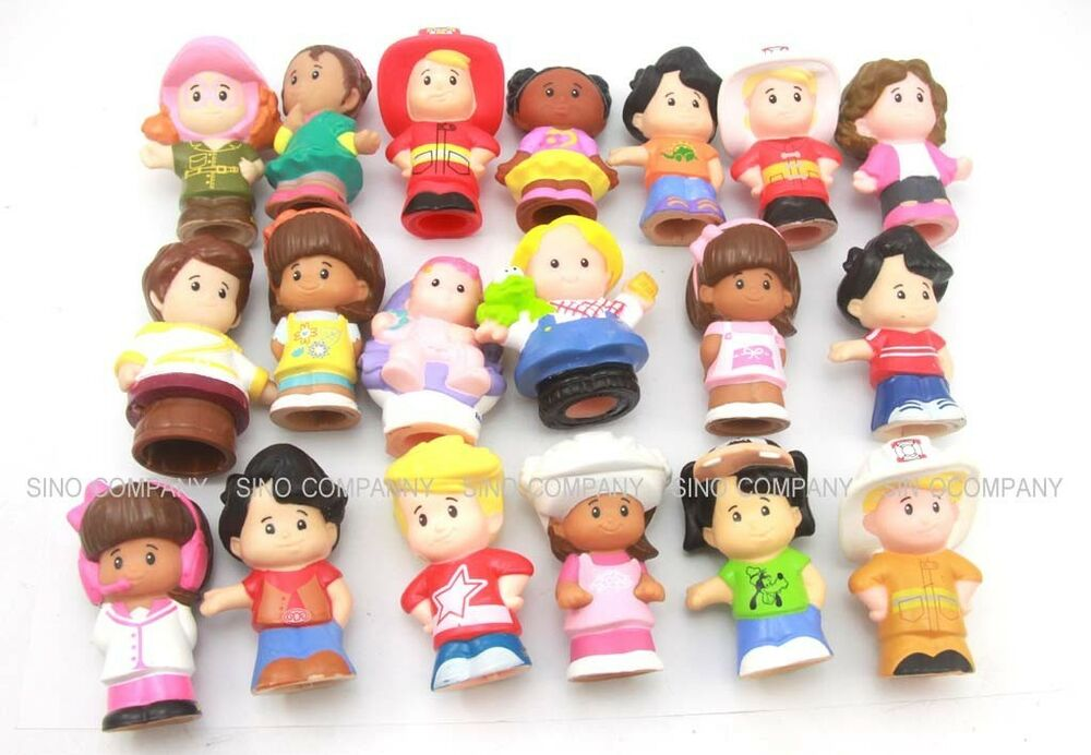 Promotion Random 10 lot Fisher Price Little People 2in ...