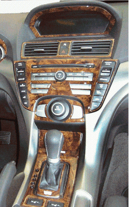 acura tsx interior burl wood dash trim kit set 2009 2010 2011 2012 2013 2014 ebay. Black Bedroom Furniture Sets. Home Design Ideas