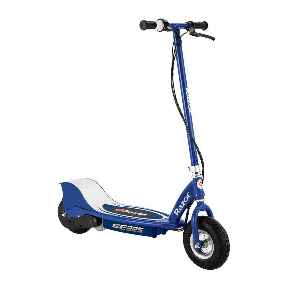 razor e325 electric battery 24 volt 15 mph motorized ride on kids scooter navy ebay. Black Bedroom Furniture Sets. Home Design Ideas