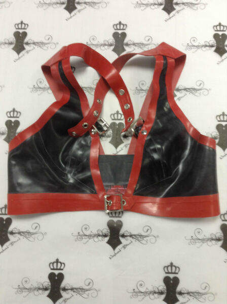 """Latex Kinky LOVERS PILLOW CUSHION 16/""""x16/"""" RED Shown RRP £129"""