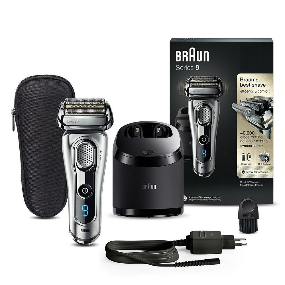 braun series 9 9290cc men 39 s electric shaver wet dry with. Black Bedroom Furniture Sets. Home Design Ideas