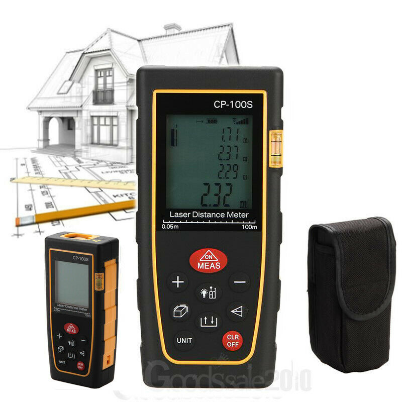 Digital Distance Measuring Instruments : New m handheld digital laser distance meter range