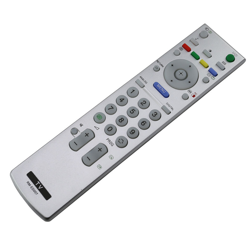 Television Tv Remote Control For Sony Bravia Rm Ed007 Lcd