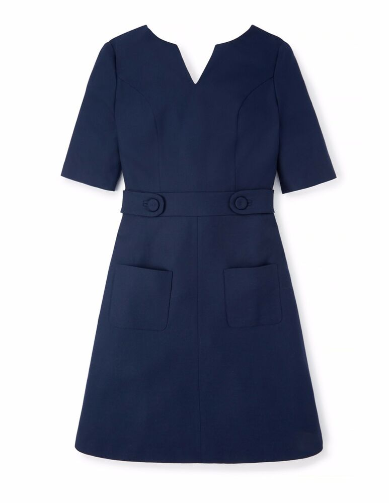 Boden bnib brunswick wool dress navy uk 20 r ebay for Boden 20 rabatt