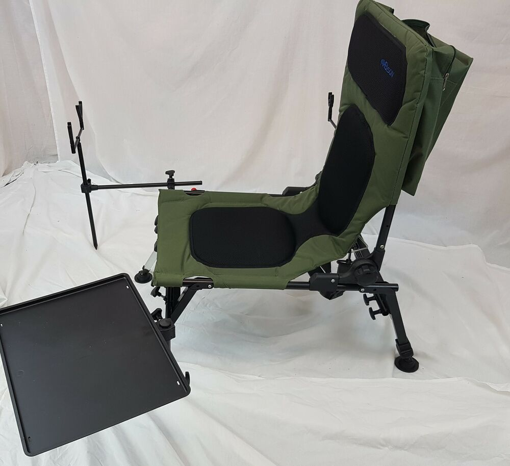 BISON DELUX CARP CHAIR FISHING STATION ROD POD BIVVY