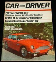 JULY 1966 CAR AND DRIVER MAGAZINE ASTON MARTIN DB6 ROAD TEST