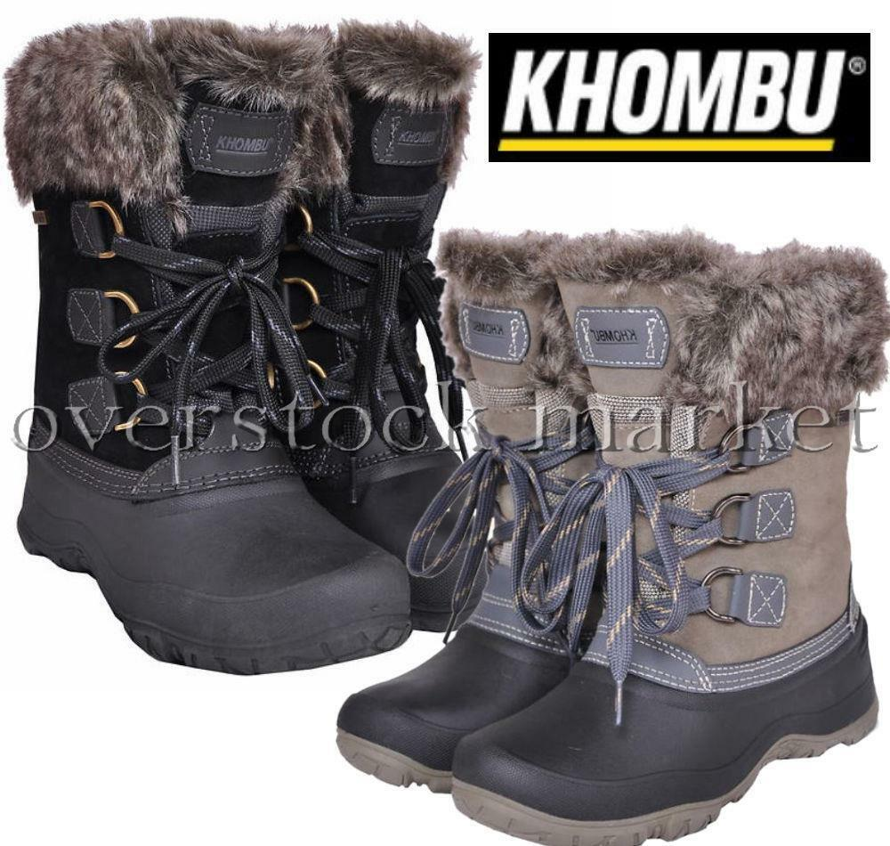 New Womens Khombu Slope Thermolite All Weather Terrain