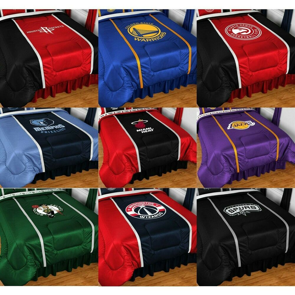 New Nba Basketball Comforter Sports League Team Logo